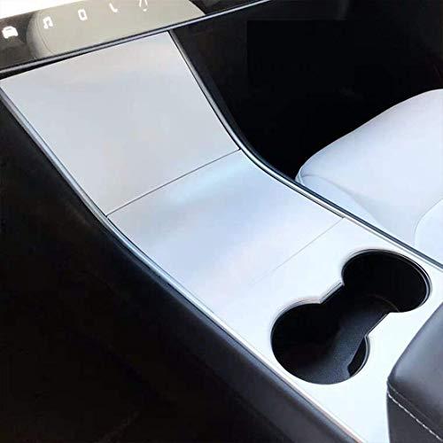 Model 3 Model Y Carbon Mittelkonsole Wrap Kit Folie ABS Kunststoff Armlehne Control Panel Dekorative Abdeckung Aufkleber für Model 3 Center Console Protector Zubehör