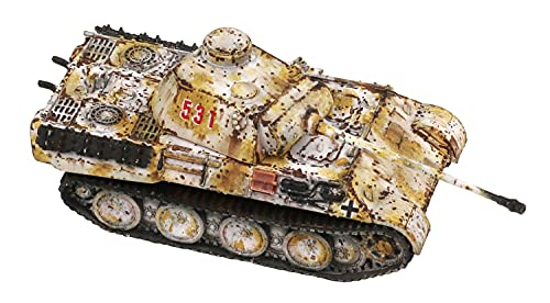 ユースターホビー 1/144 タンクシリーズ ドイツ軍 パンサーD 中期型 プラモデル UA-60006