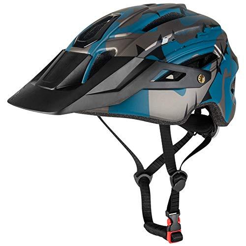 YUNDING Casco Ciclismo 2020 Nuevo Casco de Bicicleta Batfox para Hombres Adultos Mujeres MTB Bike Mountain Road Ciclismo Casco de Deportes al Aire Libre