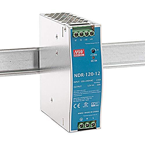 MeanWell NDR-120-12 120W 12V 10A Hutschienen Netzteil DIN-RAIL