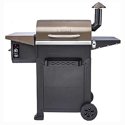 Z Grills 6002B Wood Pellet Grill Smoker 600 sq in 6 in1 Outdoor BBQ Smoker (ZPG-6002B)