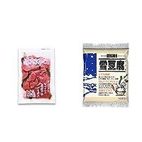 [2点セット] 赤かぶすぐき(160g)・信濃雪 雪豆腐(粉豆腐)(100g)