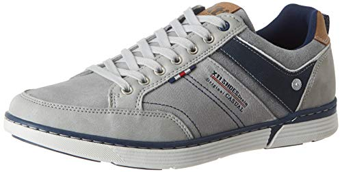 XTI Herren 49625 Sneakers, Grau (Gris Gris), 43 EU