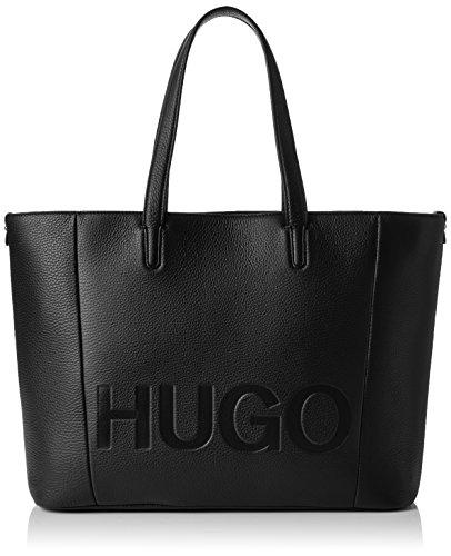 HUGO Damen Mayfair Shopper Tote, Schwarz (Black), 15 x 29 x 44 cm