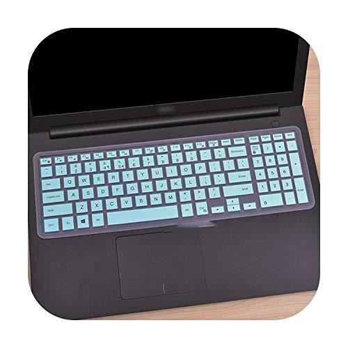 Silikon-Schutzhülle für Laptop mit 15,6 Zoll (39,6 cm) für DELL Latitude 3500 3550 3560 3570 3580 3590 Pc Laptop-Skyblue