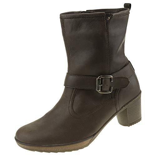 Damesschoenen enkellaarzen bosloper Hikila Rodi Moro 542812184216 + schoenpoetshandschoen