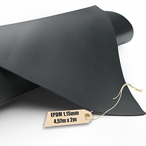 EPDM - Teichfolie Firestone 1,15mm in 2m x 4,57m