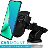MINQ One Touch Dashboard & Windshield Car Mount Adjustable Car Phone Holder