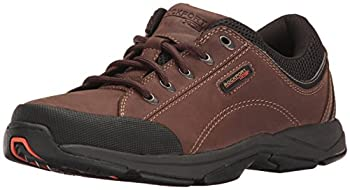 Rockport Men s Chranson Walking Shoe -Dark Brown/Black-12M