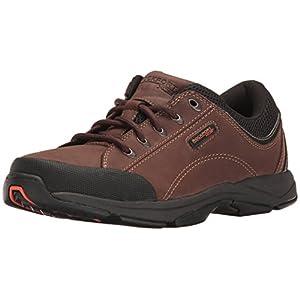 Rockport Men's Chranson Walking Shoe Dark Brown/Black 10.5 W (EE)-10.5 W