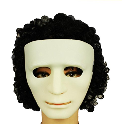 HAAC Maske Masken Farbe weiß Halloween Fasching Karneval