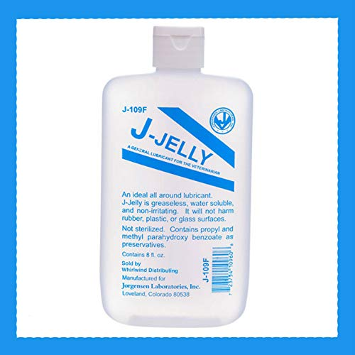 J-Jelly Water Based Personal Sex Lube Lubricant Great for Anal Play
