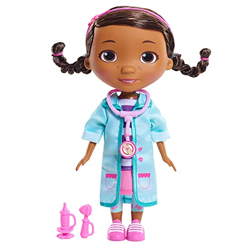 Disney Junior Doc McStuffins Pet Rescue 8.5 Inch Doc Doll and Accessories, by Just Play