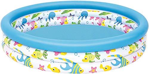 CYSJ Piscina Inflable Infantil Piscina Hinchable 3 Aros , Piscina de Agua para niños, Material plástico Ideal para bebés y niños y niñas pequeños