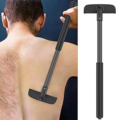 Cheveux rasoir pour homme, corps toiletteur Trimmer, Indolore Fermer Épilation à raser Clipper avec poignée réglable