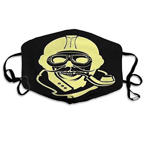 Unsex Face Decor Dead Pilot of Skull in Helmet - Casco