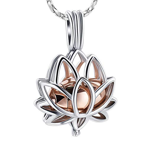 Lotus Flower Ashes Pendant Necklace