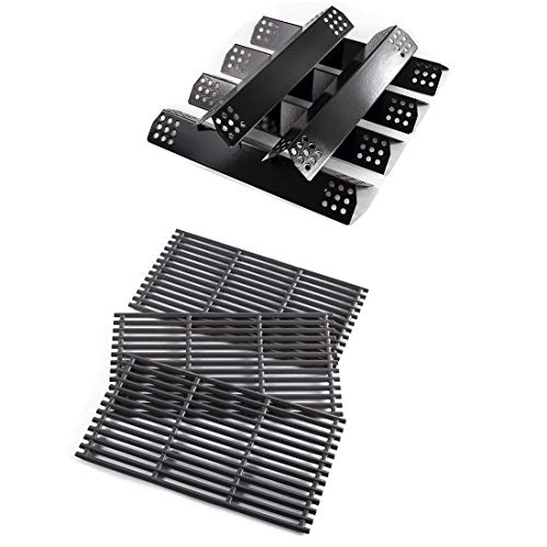 Grill Kit for Nexgrill 720-0882A 720-0882D BHG 720-0882 Heat Plate + Cooking Grates