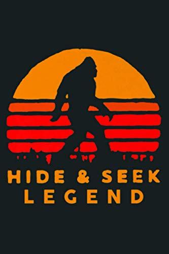 Bigfoot Yeti Hide And Seek Legend Champion Sasquatch Gift Premium: Notebook Planner - 6x9 inch Daily Planner Journal, To Do List Notebook, Daily Organizer, 114 Pages