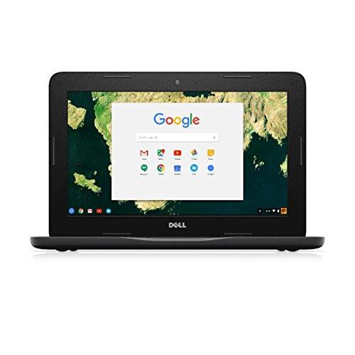 Dell Chromebook 11 3180 – 16 GB SSD – Schwarz (Tastatur im UK-Format) (Generalüberholt)