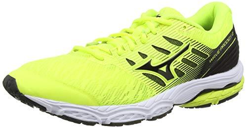 Mizuno Wave Prodigy 2, Zapatillas de Running Hombre, Amarillo (Safety Yellow/Black 09), 41 EU