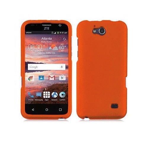 FastSun Hard Protector Case Phone Cover for ZTE Atrium Z793C Scend LTE Z791g (Orange)