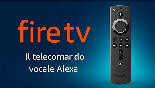 Telecomando vocale Alexa per Fire TV, con tasti per accensione/spegnimento e volume – richiede un dispositivo Fire TV compatibile