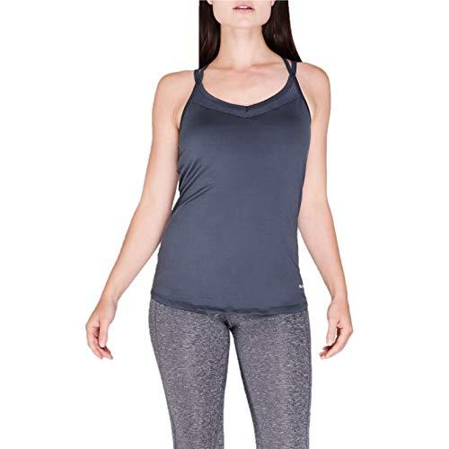 Sugoi Mujer Sprint Camiseta De Tirantes Deportiva Lisa Azul M
