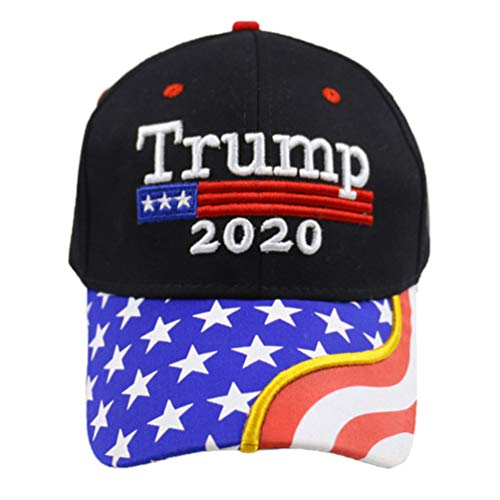 Amosfun 2020 Trump Gorra de Béisbol Bordada Nosotros Trump Hat Cubo de Béisbol Gorra de Camionero Gorra de Elección Presidencial