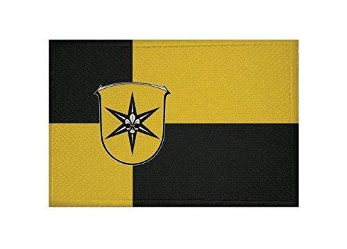 U24 Aufnäher Waldeck Fahne Flagge Aufbügler Patch 9 x 6 cm