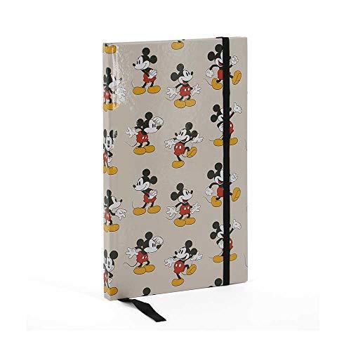 Mickey Mouse- Original Diario, Color Beige (Karactermanía 35081)