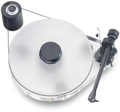 Pro-Ject RPM 9.1 Acryl Manueller Plattenspieler (Pro-ject 9cc Karbon-Tonarm)
