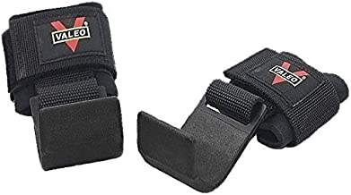 Heavy Duty Metal Lifting Steel Hooks Support with Neoprene Padded Wrist Straps, Hook Grips Straps Gloves Wrist Support for...