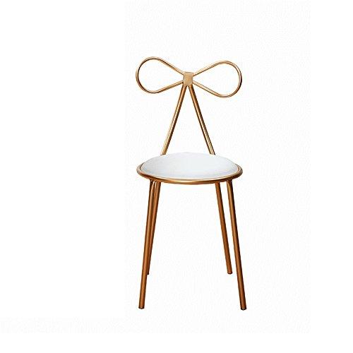GHM Bar Chaises Iron Art Bar Chaise Créativité Haut Pied Simple Casual Chaise À Manger Réception Restaurant Tabouret Sit High (Taille : 45)