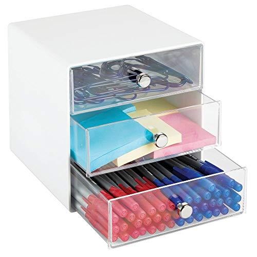 mDesign Plastic Storage Organizer
