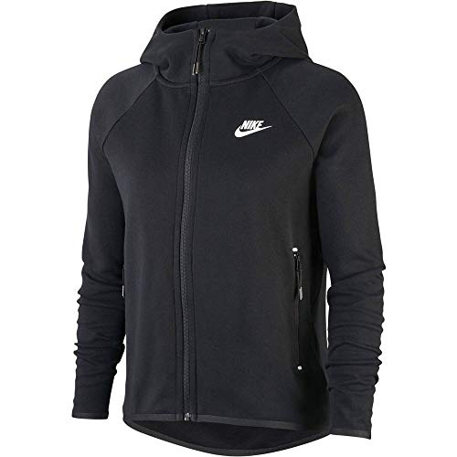 Style#: BV7565-010 Nike Tech Fleece fabric offers the ultimate in lightweight warmth. A drop-tail hem adds coverage. Zippered side pockets store your essentials. Bonded details add signature Nike Tech Pack style. Machine wash