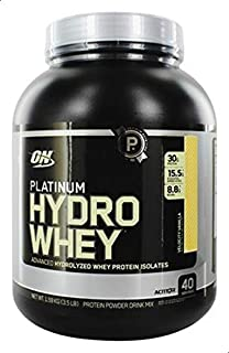 Optimum NutritionPlatinum Hydro Whey Velocity Vanilla Flavor Powder, 3.5 Lbs
