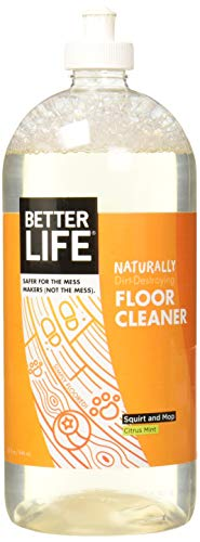 Better Life Simply Floored! Natural Floor Cleaner Citrus Mint - 32 fl oz