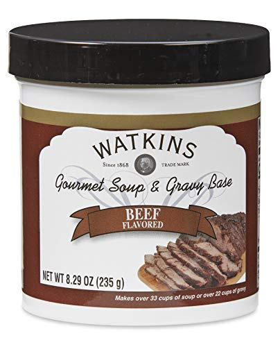 Watkins Soup and Gravy Base, Beef, 8.29 Ounce Jar, 1-Count