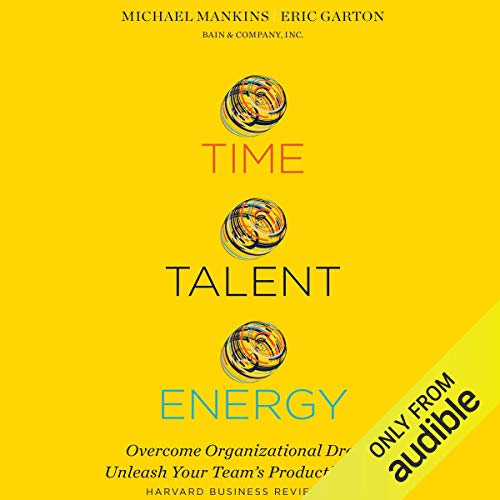 Time, Talent, Energy cover art