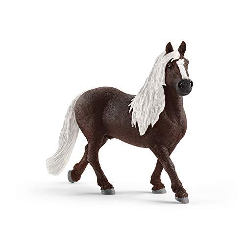 Schleich Farm World  Animal Figurine  Farm Toys for Boys and Girls 3-8 years old  Black Forest Stallion