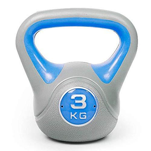 WYYY Kugelhantel rutschfest Yoga Fitness Kettle Bell Anfänger Home Fitness Equipment 2 kg/3 kg/4 kg/6 kg/8 kg/10 kg/12 kg/14 kg/16 kg/18 kg/20 kg, 3kg