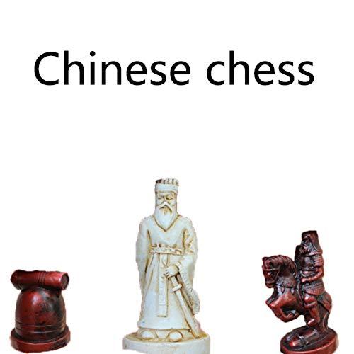 Chinesisches Schach Set Retro