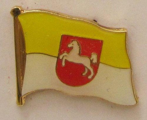 Pin Anstecker Flagge Fahne Hannover Pferd Stadtflagge Flaggenpin Badge Button Flaggen Clip Anstecknadel