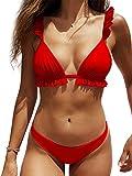 Trajes de Baño Bikini Las Mujeres Volantes Lindo...