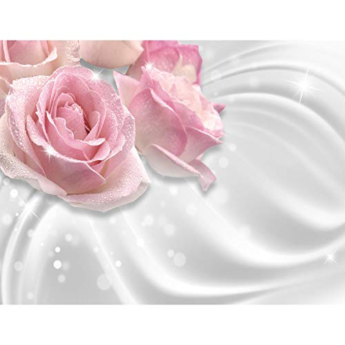 Fototapeten Blumen Rosen 352 x 250 cm - Vlies Wand Tapete Wohnzimmer Schlafzimmer Büro Flur Dekoration Wandbilder XXL Moderne Wanddeko - 100{63a92617db31006ed53d8cf69659557aba588a93d8ad634a7d788fa9aad017c3} MADE IN GERMANY - 9357011c