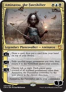 Magic: The Gathering - Aminatou, the Fateshifter - Foil - Commander 2018