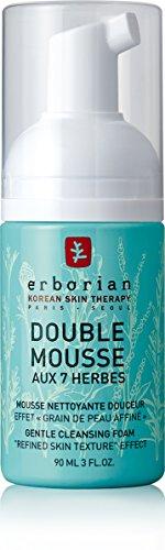 Erborian, doppia mousse detox, emulsione per la depurazione, 90 ml (lingua italiana non garantita)