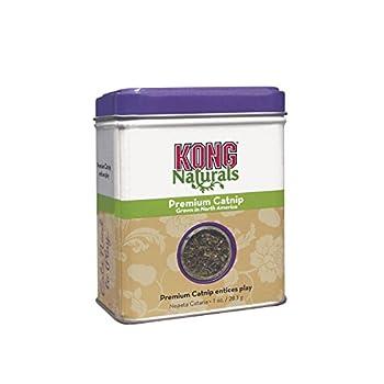 KONG - Naturals Premium Catnip - Herbe à chat premium d'Amérique du Nord - 1 once/28 g