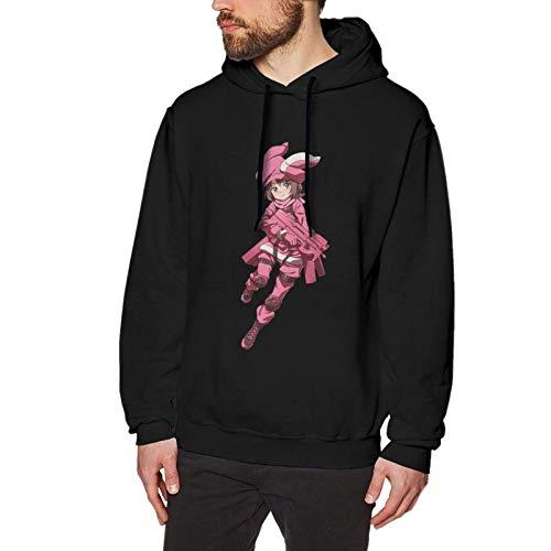 XCNGG Sudadera con Capucha Llenn Pink Devil Funny Design para Hombre